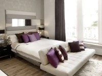 Purple Accents In Bedrooms  51 Stylish Ideas