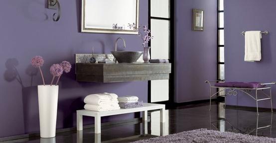 56 Cool Purple Bathroom Design Ideas  DigsDigs