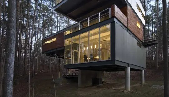 Architect S House Surrounded By Untouched Nature Digsdigs