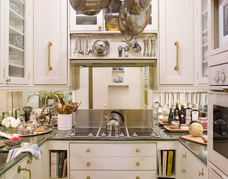 small kitchens crosley kitchen islands 33 cool ideas digsdigs really tiny but busy