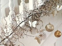 44 Refined Gold And White Christmas Décor Ideas - DigsDigs