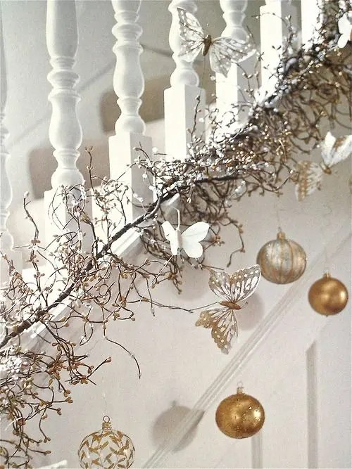 Silver Decorated Christmas Tree Ideas And White Red Decorating