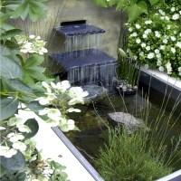 Home Modern Small Waterfall Design