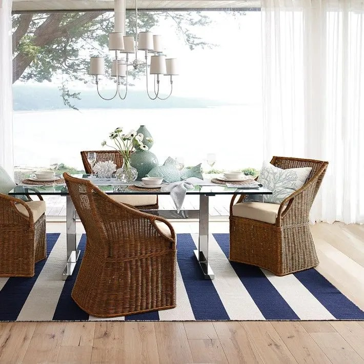 examples of living room decor patio furniture in 26 relaxing coastal dining rooms and zones | digsdigs