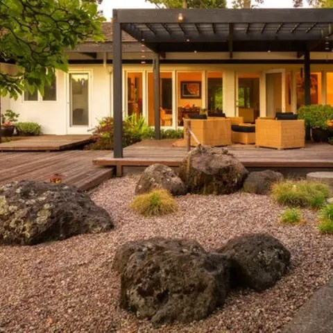 18 Relaxing JapaneseInspired Front Yard Dcor Ideas  DigsDigs