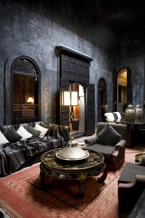 moroccan living room design black cabinet 51 relaxing rooms digsdigs