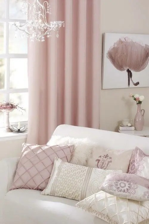 Pantones 2016 Color 28 Rose Quartz Home Dcor Ideas