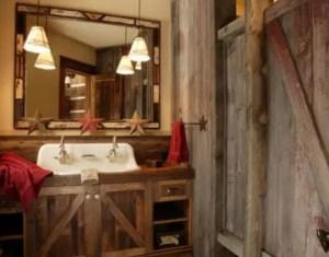 Rustic Western Bathroom Ideas