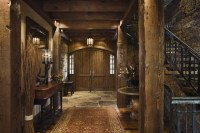 Rustic House Design in Western Style - Ontario Residence ...