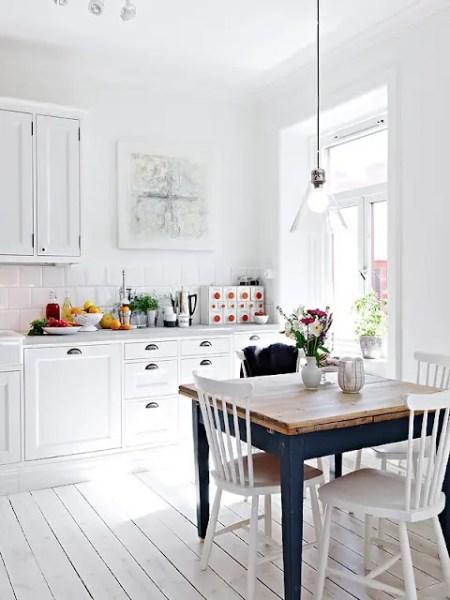 scandinavian interior design kitchen white 33 Rustic Scandinavian Kitchen Designs - DigsDigs