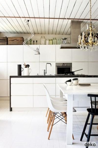 scandinavian interior design kitchen white 33 Rustic Scandinavian Kitchen Designs | DigsDigs