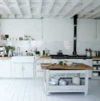 33 Rustic Scandinavian Kitchen Designs