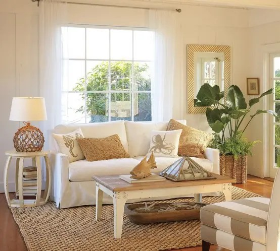 beach inspired living rooms amazon room furniture 37 sea and digsdigs
