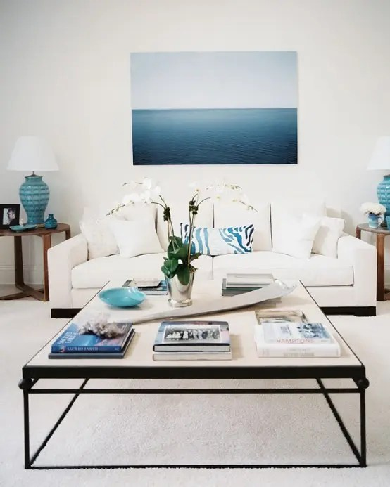 beach decor ideas living room cherry furniture 37 sea and inspired rooms digsdigs