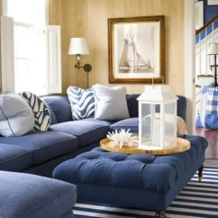 Navy Blue Sofa Living Rooms Room Furniture Uk 37 Sea And Beach Inspired - Digsdigs