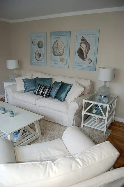 decorating ideas in living room furniture coffee tables 37 sea and beach inspired rooms - digsdigs