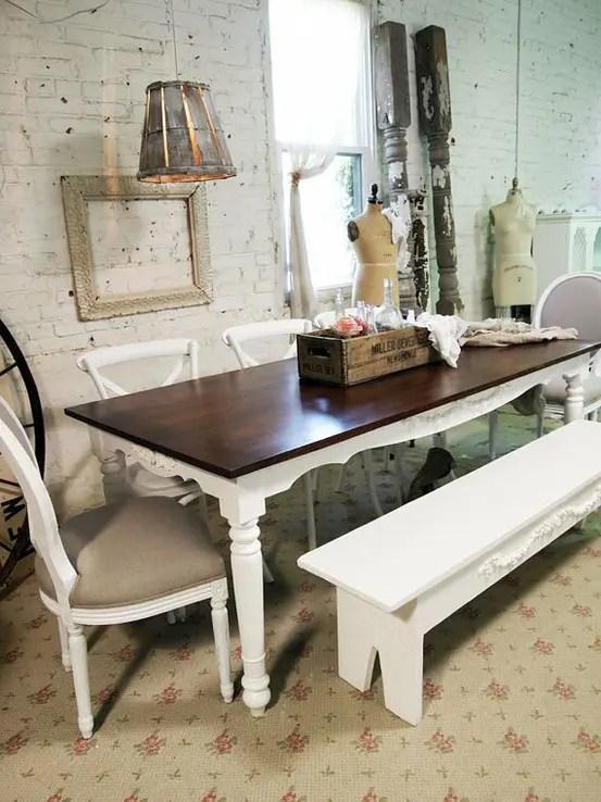 39 Beautiful Shabby Chic Dining Room Design Ideas  DigsDigs