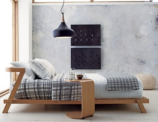 28 Simple And Elegant MidCentury Modern Beds  DigsDigs
