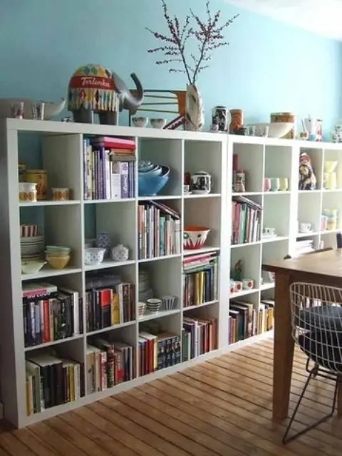 storage solutions for living rooms cream leather room set 60 simple but smart ideas digsdigs ikea s kallax shelf units are probably the most popular options they