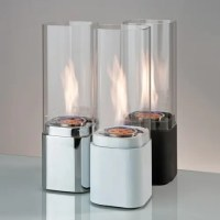 Modern Portable Fireplaces and Fire Lamps - DigsDigs