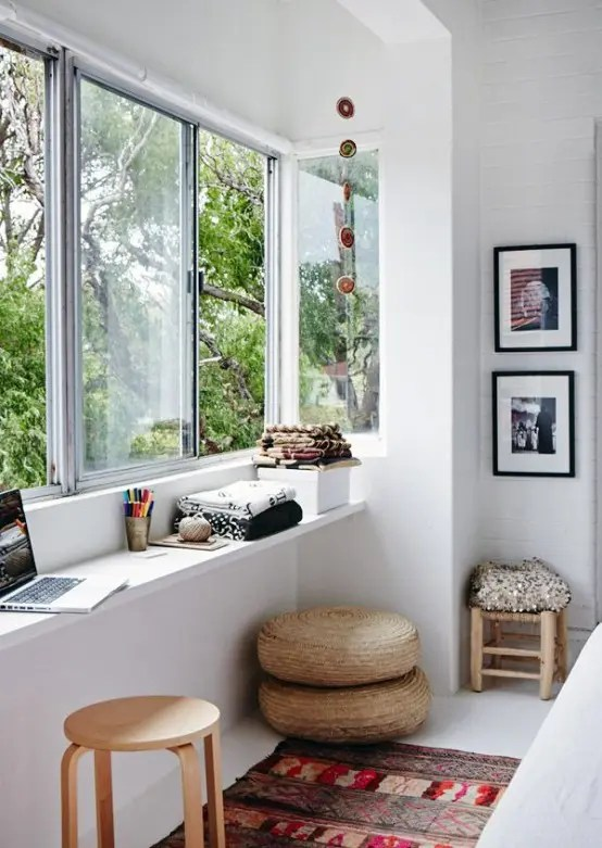 living room window sill decorating ideas interior decorated rooms pictures 26 smart and creative small sunroom décor - digsdigs