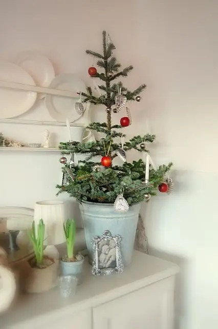 44 SpaceSaving Christmas Trees For Small Spaces  DigsDigs