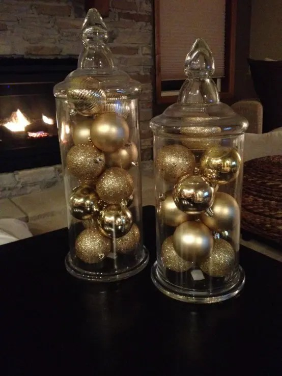black gold living room ideas images of rooms decorated for fall 31 sparkling christmas décor - digsdigs