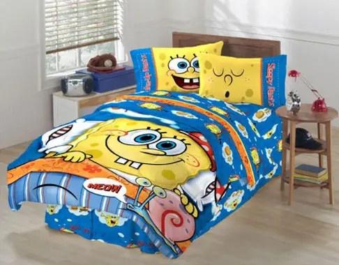 SpongeBob SquarePants Themed Room Design DigsDigs