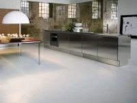 Stainless Steel Kitchen Cabinets - E5 from Elam - DigsDigs