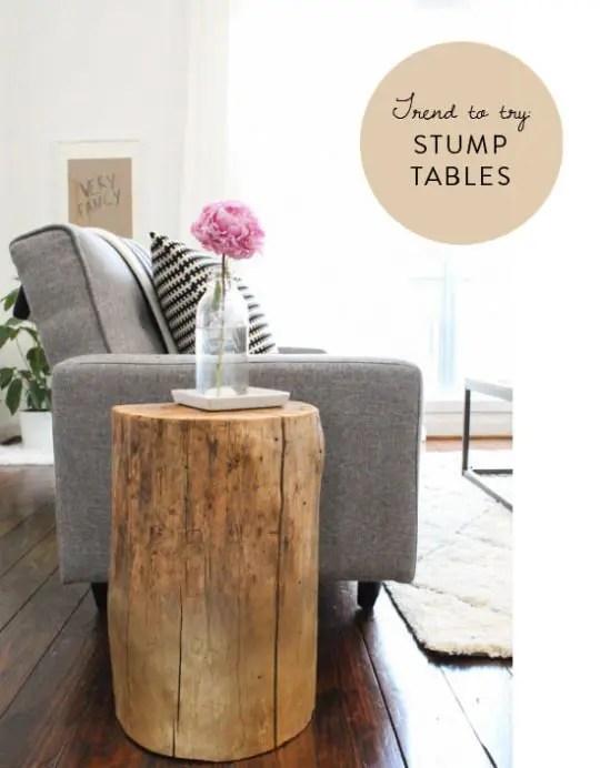 36 Stump Décor Pieces For Natural Home Décor DigsDigs