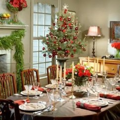 Home Goods Dining Chair Cushions Rocker Glider 37 Stunning Christmas Room Décor Ideas - Digsdigs