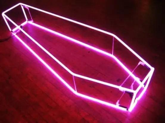23 Stunning Neon Halloween Dcor Ideas  DigsDigs