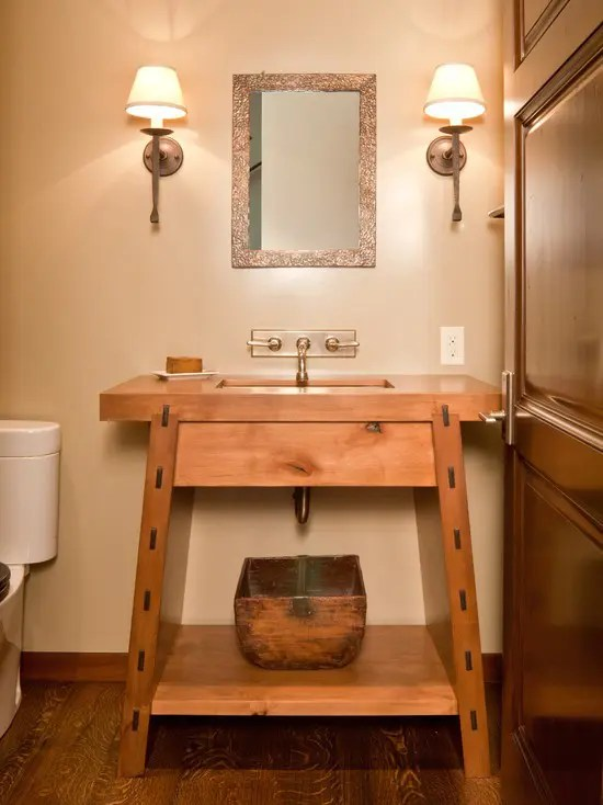 45 Stylish And Cozy Wooden Bathroom Designs Digsdigs