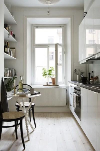 small narrow kitchen design ideas 31 Stylish And Functional Super Narrow Kitchen Design