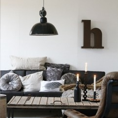 Rustic Industrial Living Room Small Fireplace Tv 30 Stylish And Inspiring Designs Digsdigs