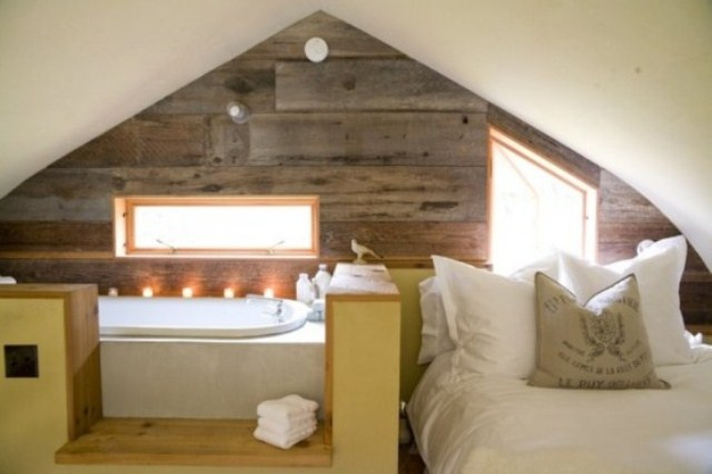 Rugs are also is also recommended in order to create a vintage looks. 36 Stylish And Original Barn Bedroom Design Ideas - DigsDigs