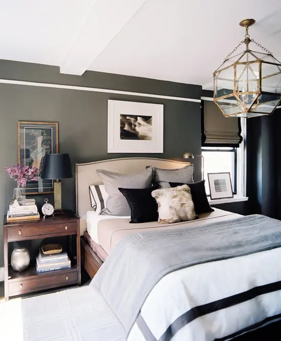 A Combination Of Neutral Dark And Clean White Colors Is Safe Way To Go