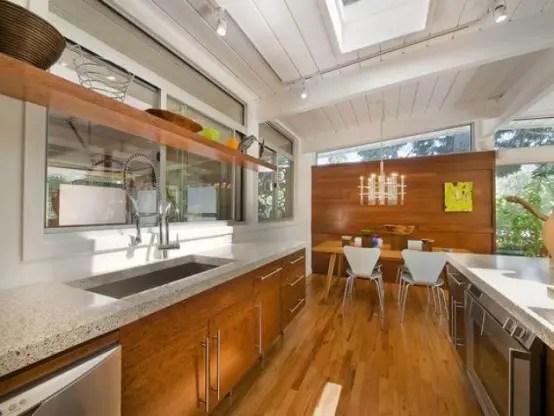 73 Stylish And Atmospheric MidCentury Modern Kitchen