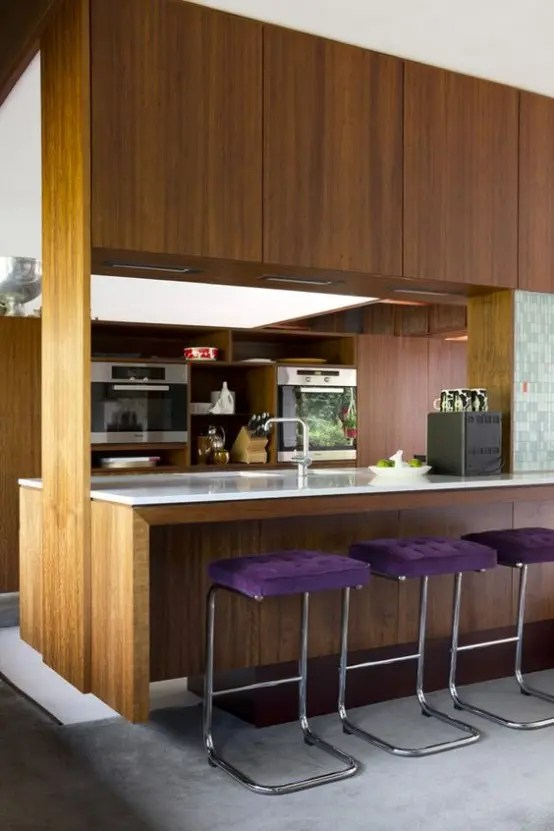 39 Stylish And Atmospheric MidCentury Modern Kitchen