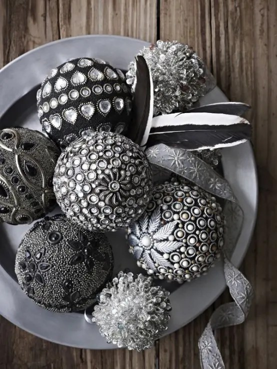 38 Stylish Christmas Dcor Ideas In All Shades Of Grey