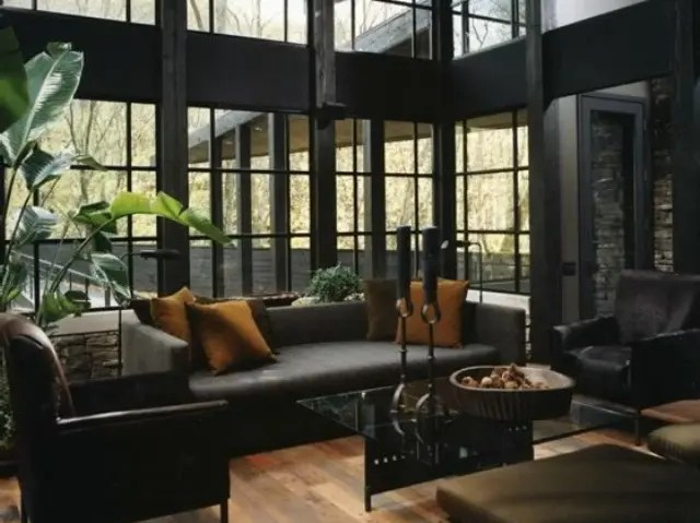 Living Room Dark Gray