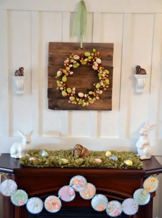 43 Stylish Easter Mantel Decorating Ideas  DigsDigs