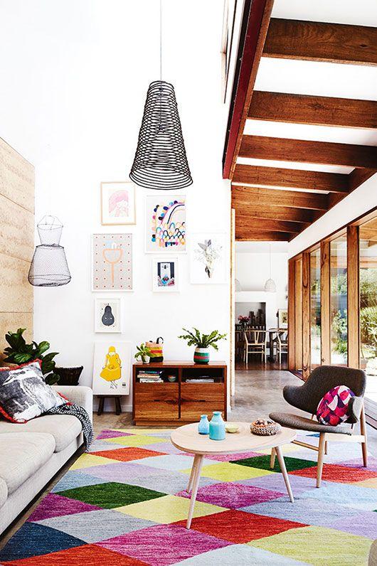 32 Stylish Geometric Décor Ideas For Your Living Room ...