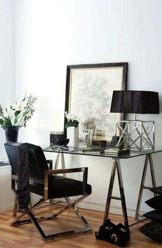 27 Stylish Geometric Home Office D 233 Cor Ideas Digsdigs