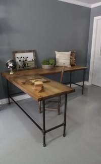 28 Stylish Industrial Desks For Your Office - DigsDigs