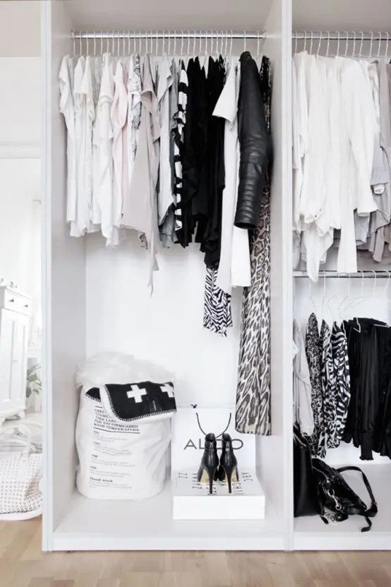 34 Stylish Minimalist Closet Design Ideas  DigsDigs
