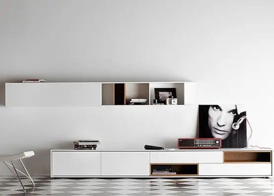32 Stylish Modern Wall Units For Effective Storage Digsdigs