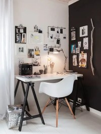 50 Stylish Scandinavian Home Office Designs - DigsDigs