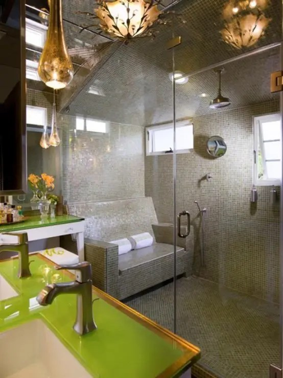 A Bit Of Luxury 35 Stylish Steam Rooms For Homes Digsdigs