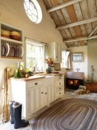 38 Super Cozy And Charming Cottage Kitchens - Interior ...